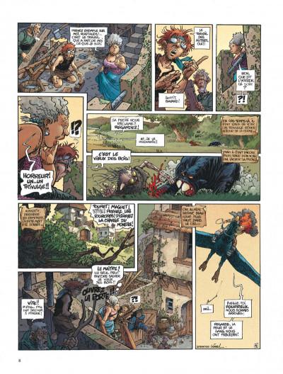 Page 8 La quête de l'oiseau du temps - intégrale