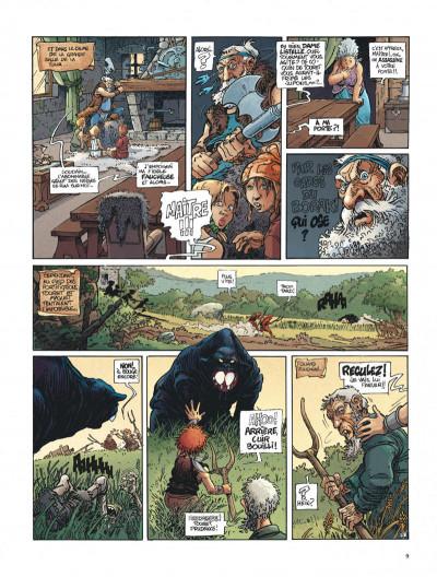 Page 9 La quête de l'oiseau du temps - intégrale