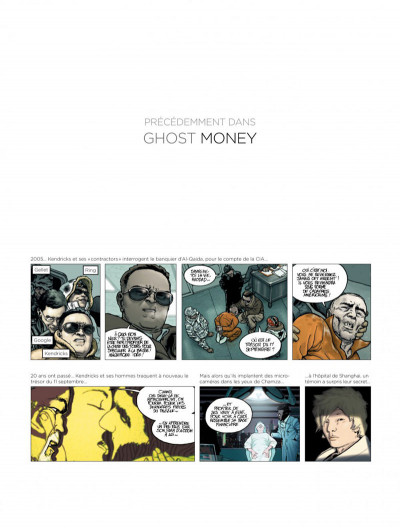 Page 1 Ghost money tome 3
