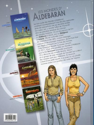 Dos Aldebaran - intégrale