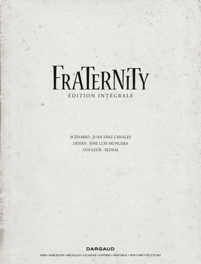 Page 3 Fraternity - intégrale