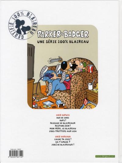 Dos Parker & Badger tome 8 - ça t'amuse?