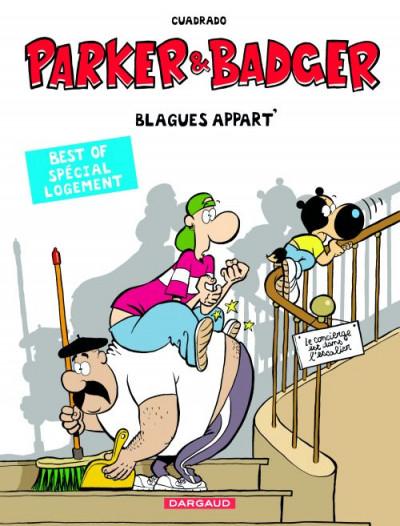 Couverture Parker & Badger - best of tome 2 - spécial logement