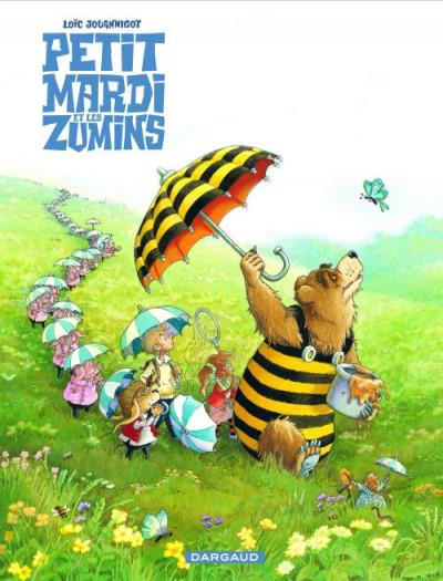 Couverture Petit Mardi et les Zumins tome 2 - la chasse au papillon