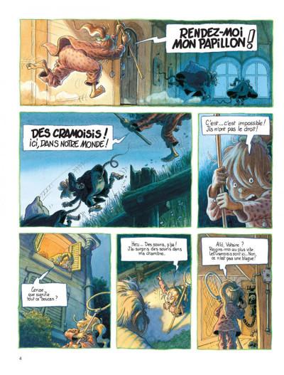 Page 2 Petit Mardi et les Zumins tome 2 - la chasse au papillon