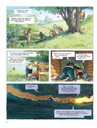 Page 4 Petit Mardi et les Zumins tome 2 - la chasse au papillon