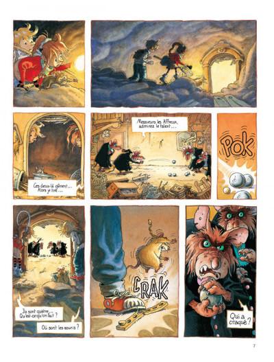 Page 5 Petit Mardi et les Zumins tome 2 - la chasse au papillon
