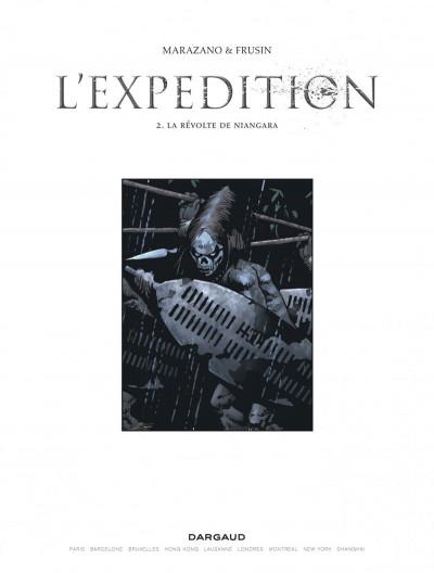 Page 1 L'expédition tome 2 - la révolte de niangara