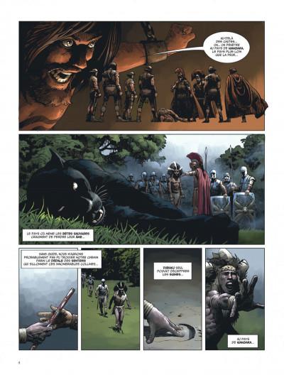 Page 4 L'expédition tome 2 - la révolte de niangara