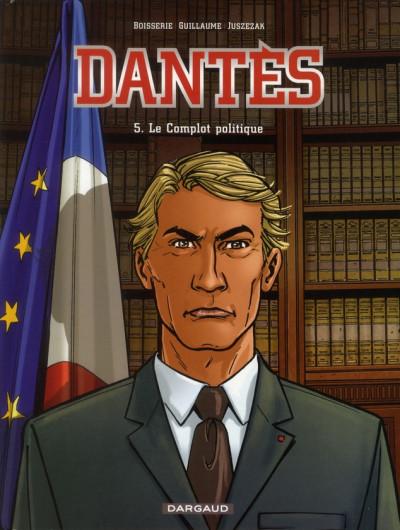 Couverture Dantès tome 5 - le complot politique