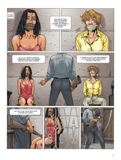 Page 3 Dantès tome 5 - le complot politique