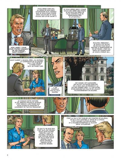 Page 8 Dantès tome 5 - le complot politique