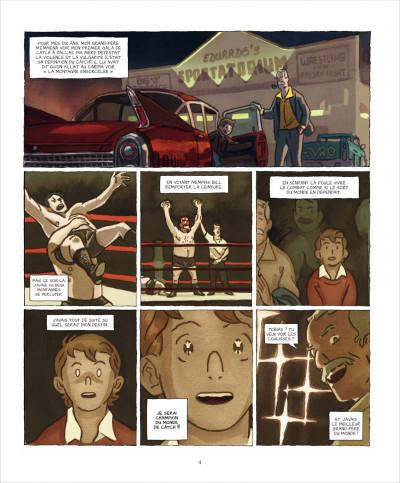 Page 4 Le roi du ring tome 1 - graine de champion
