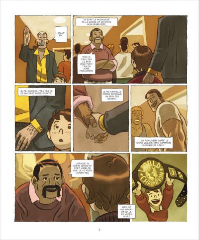 Page 5 Le roi du ring tome 1 - graine de champion