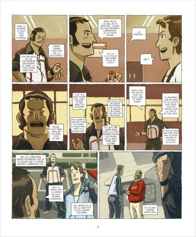 Page 8 Le roi du ring tome 1 - graine de champion