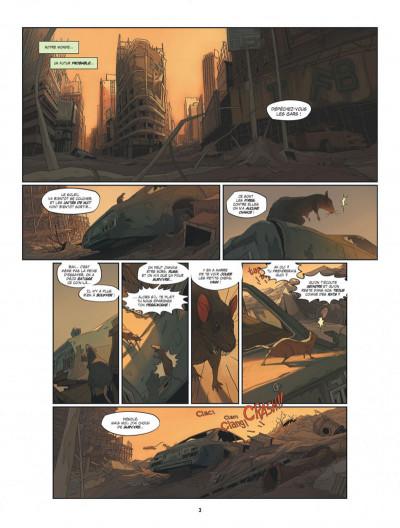Page 3 S.a.m. tome 1 - sam tome 1 - après l'homme....