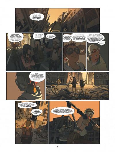 Page 5 S.a.m. tome 1 - sam tome 1 - après l'homme....