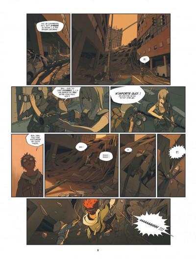Page 6 S.a.m. tome 1 - sam tome 1 - après l'homme....