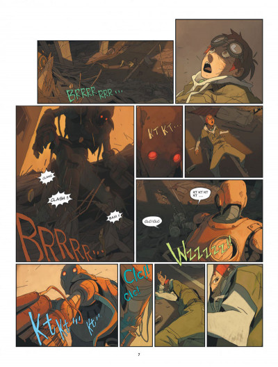 Page 7 S.a.m. tome 1 - sam tome 1 - après l'homme....