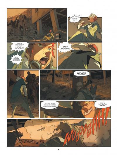 Page 8 S.a.m. tome 1 - sam tome 1 - après l'homme....