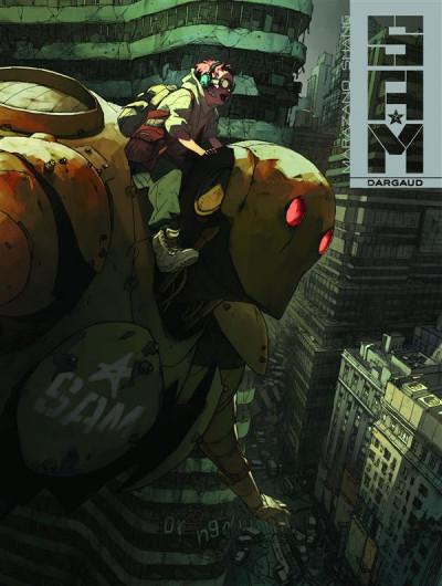 Couverture S.A.M. tome 2 - chasseurs de robots