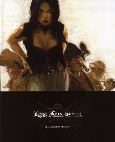 Couverture Long John Silver tome 3 - édition luxe