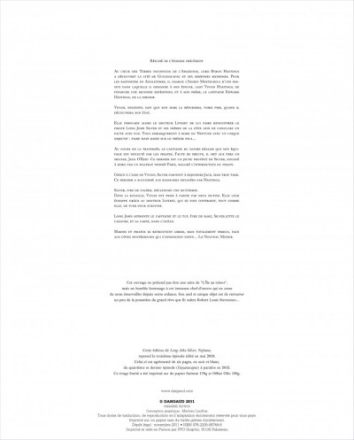 Page 2 Long John Silver tome 3 - édition luxe