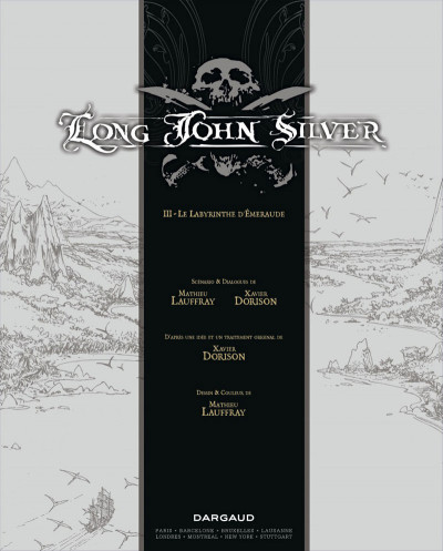 Page 3 Long John Silver tome 3 - édition luxe
