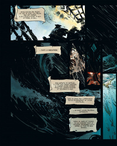 Page 4 Long John Silver tome 3 - édition luxe