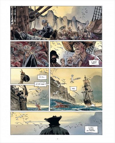 Page 7 Long John Silver tome 3 - édition luxe