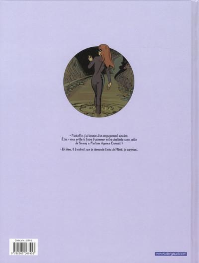 Dos Paulette comète tome 2 - reine des gangsters intérimaire