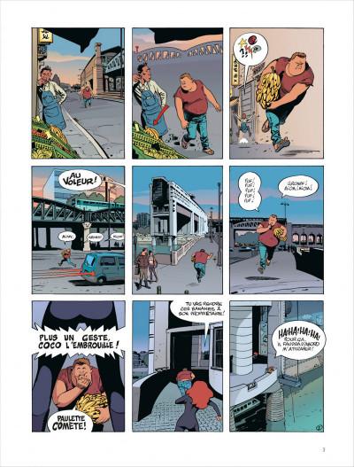 Page 3 Paulette comète tome 2 - reine des gangsters intérimaire