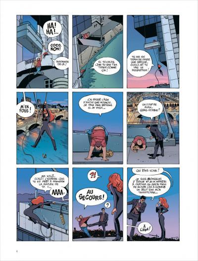 Page 4 Paulette comète tome 2 - reine des gangsters intérimaire