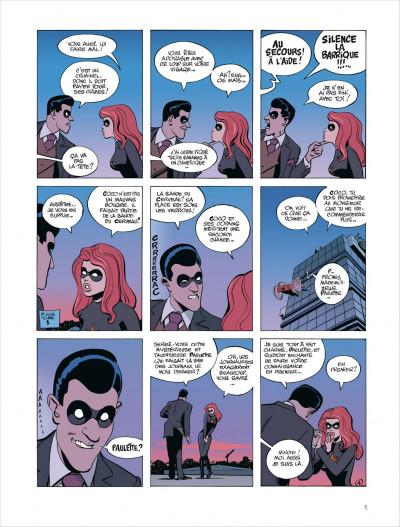 Page 5 Paulette comète tome 2 - reine des gangsters intérimaire