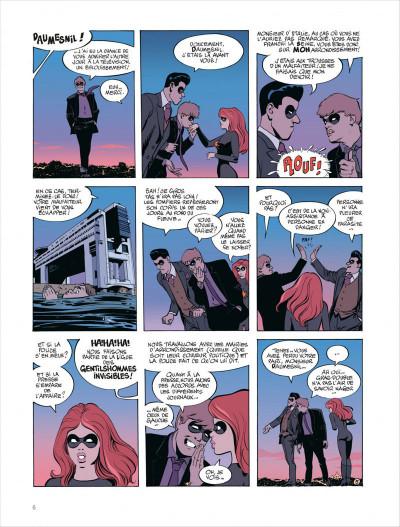 Page 6 Paulette comète tome 2 - reine des gangsters intérimaire