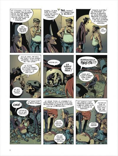 Page 8 Paulette comète tome 2 - reine des gangsters intérimaire