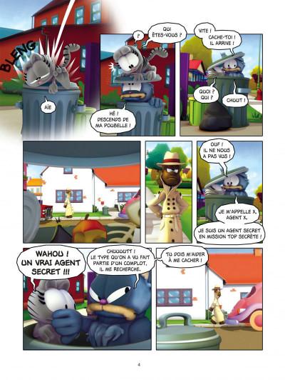 Page 4 Garfield & cie tome 8 - agent secret