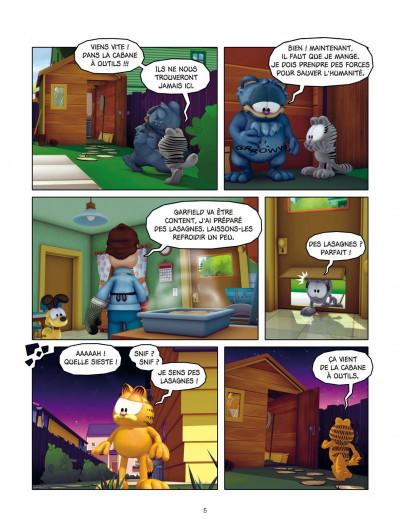 Page 5 Garfield & cie tome 8 - agent secret