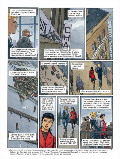 Page 7 Tramp - intégrale tome 3 - tome 7 à tome 9 - cycle asiatique