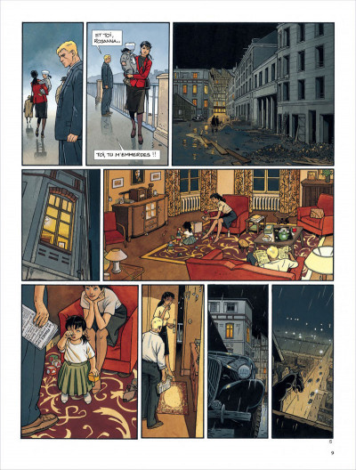 Page 9 Tramp - intégrale tome 3 - tome 7 à tome 9 - cycle asiatique