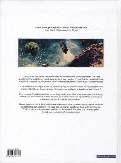Dos Valérian vu par Larcenet - L'armure du Jakolass
