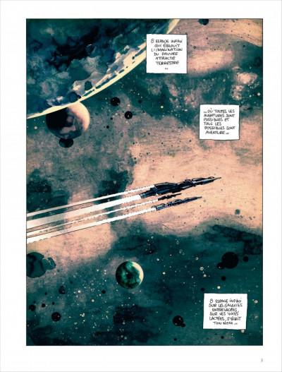 Page 1 Valérian vu par Larcenet - L'armure du Jakolass