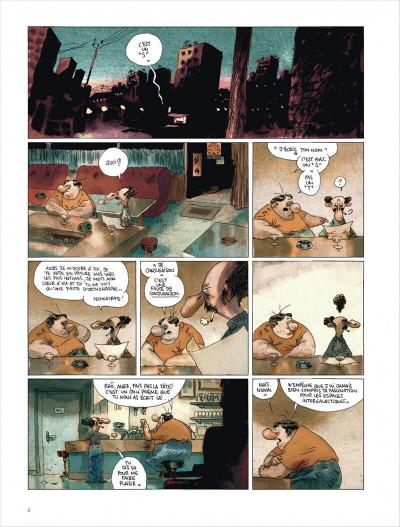 Page 4 Valérian vu par Larcenet - L'armure du Jakolass