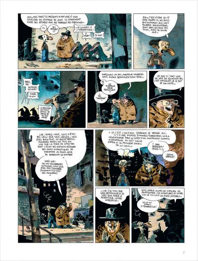 Page 7 Valérian vu par Larcenet - L'armure du Jakolass