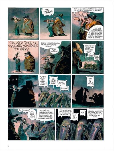 Page 8 Valérian vu par Larcenet - L'armure du Jakolass