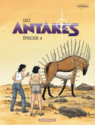 Couverture Antarès tome 4