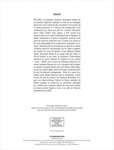 Page 1 Dantès tome 6 - l'affrontement final