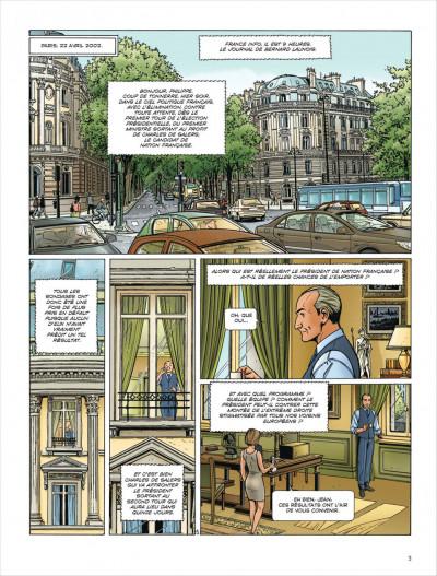 Page 2 Dantès tome 6 - l'affrontement final