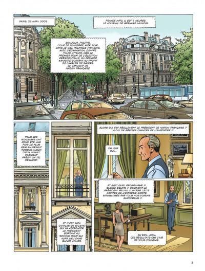 Page 3 Dantès tome 6 - l'affrontement final