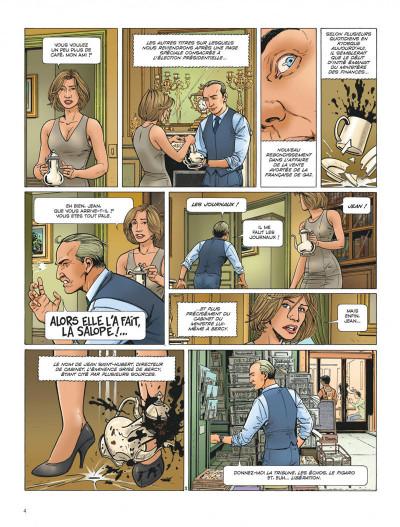 Page 4 Dantès tome 6 - l'affrontement final